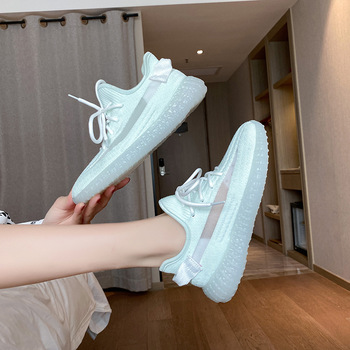 Women Sneakers Shoes 2020 summer autumn new Casual  sock Mesh comfortable sports casual shoes 5h36