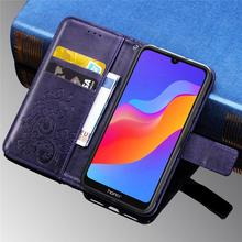 For Huawei Honor 8A Luxury Leather Wallet Flip Case Cover For Huawei Y6 Pro 2019 Honor 8A 8 A JAT-LX1 Phone Cases Book Case Skin for huawei honor 8a pro case flip wallet business leather coque phone case for honor 8a pro jat l41 cover fundas accessories