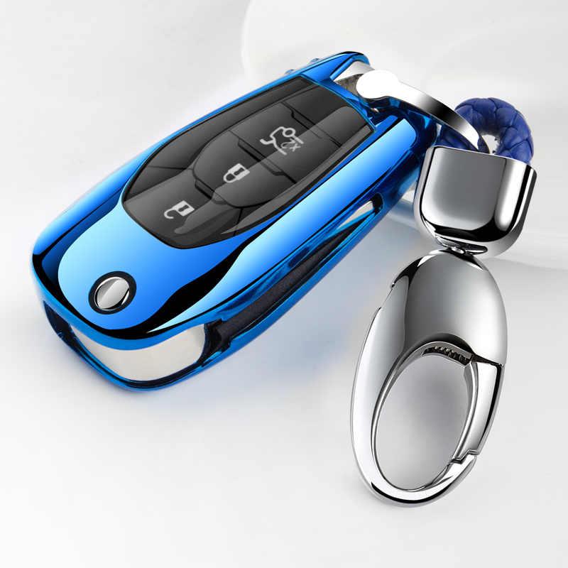רך TPU רכב מפתח כיסוי מקרה הגנת עבור שברולט cruze קמארו וולט בורג Trax מאליבו רכב סטיילינג אבזרים