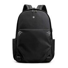 new men casual waterproof nylon backpack computer 14 inch laptop daypacks shoulder bag цена 2017