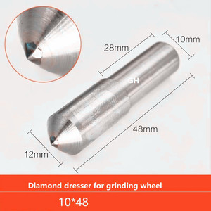 Image 5 - 다이아몬드 그라인딩 디스크 휠 스톤 드레서 도구 드레싱 펜 도구 테이퍼 팁 수리 부품 연마 도구 숫돌