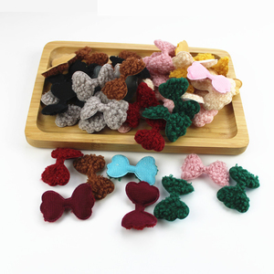 AIJJU 50Pcs Plush bow paste je