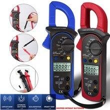 blue/red Multimeter Digital Voltage Current Test Clamp Meter Amp DC/AC Current Clamp tester Meters Voltmeter High Precision