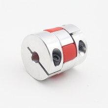 Acoplamento fexible de alumínio 5x8mm 3mm 4mm 5mm 6mm 6.35mm 7mm 10mm acoplador do motor da aranha d20l25