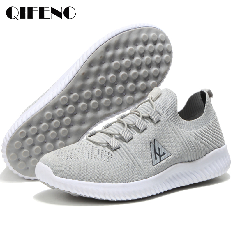 Summer Casual Shoes Men Sport Shoes Boy Comfortable Breathable Women Sneakers Male Air Mesh Footwear Fashion Spring EVA LoafersMens Casual Shoes   -