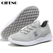 Yaz rahat ayakkabılar erkekler spor ayakkabılar erkek rahat nefes kadınlar Sneakers erkek hava Mesh ayakkabı moda bahar EVA loaferlar