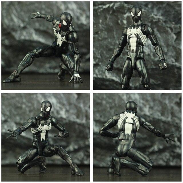 Black Spider Man Symbiote Action Figure 6Inch 5
