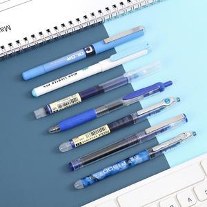JIANWU 6pcs 7pcs/set Simplicity color Large Gel Pen set 0.5mm quick-drying Straight Pen highlighter for school Stationery kawaii(China)