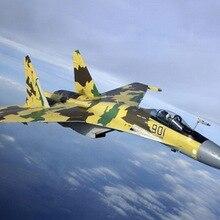 Elysium военный самолет в собранном виде модель самолета истребитель 1: 48 современной России Сью-37 истребитель 80309