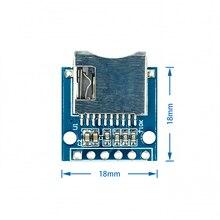 Плата расширения для хранения Micro SD 5 шт./лот, защитный модуль карты памяти Mini Micro SD TF с контактами для Arduino ARM AVR
