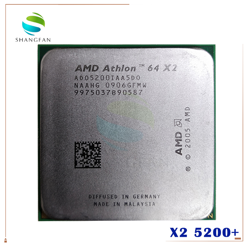 AMD ADO5200IAA5DD Processor-Socket CPU AM2 Dual-Core 940pin X2 title=