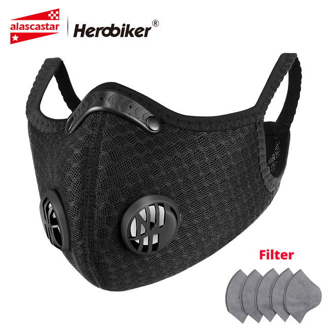 NEW Face Shield Balaclava Face Mask Motorcycle Face Masks Dust-proof Skull Valve Mask Moto With Breathable Vents Outdoor Masks