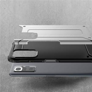 Image 3 - מחוזק עמיד הלם מקרה עבורXiaomi Redmi Note 10S 10 Pro case הערה 10 פרו מוקשח מקרה + זכוכית הערה 10S 10Pro כיסוי שריון מקרה על Redmi Note10 פרו 5G