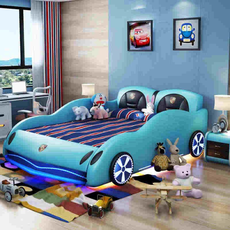2020 hot sale car beds for kids race