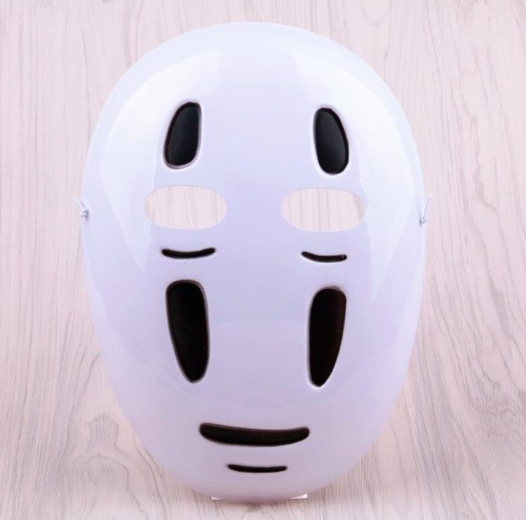 1pc New Creative Spirited Away No Face Mask Faceless Cosplay Helmet Fancy Anime Halloween Party Costume Masks Party Decor Gift Party Diy Decorations Aliexpress
