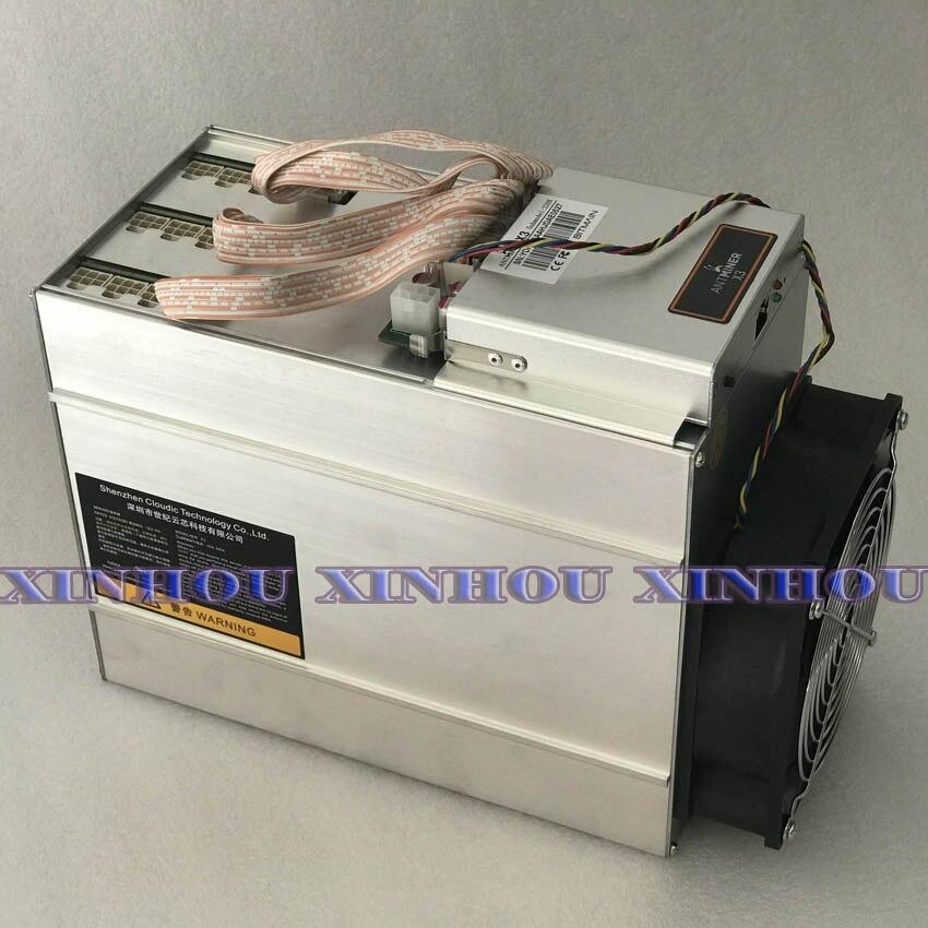 Verwendet Bitmain Antminer X3 220KH/S CrptoNight ASIC Miner ETN XMC DERO Bergbau Besser als Antminer S9 Z9 T17 b7 A8 A9 whatsminer M3