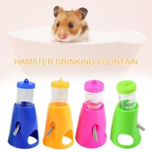 Small Pet Hamster Drinking Fountain With Cooling Room Summer Igloo House Bracket Integrated Water Feeder New