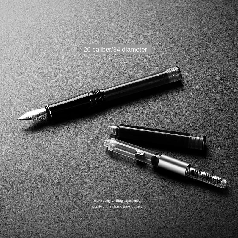 20pcs/set Ink Supplies Hongdian Fountain Pen Ink Cartridges 3.4mm Diameter Blue Black Ink For Wing Sung HongDian Fountain Pen
