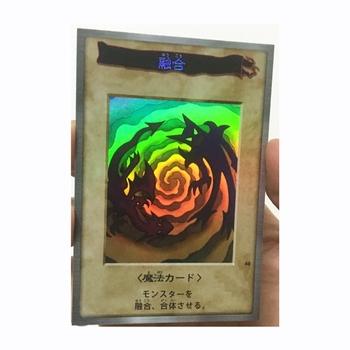 Yu Gi Oh polimeryzacja DIY zabawki Hobby Hobby kolekcje kolekcja gier karty Anime tanie i dobre opinie TOLOLO Q893 Dorośli Chiny certyfikat (3C) Fantasy i sci-fi