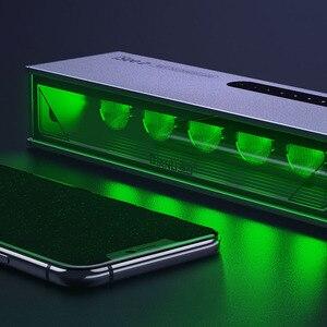 Image 2 - Qianli isee tela lcd lâmpada de reparo poeira impressão digital risco detecção graxa luz pesquisa para reparação do telefone remodelação