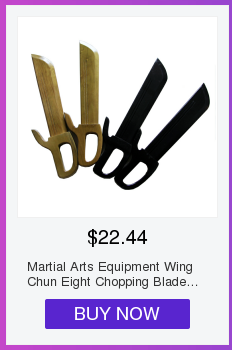 Equipamento de aço inoxidável das artes marciais
