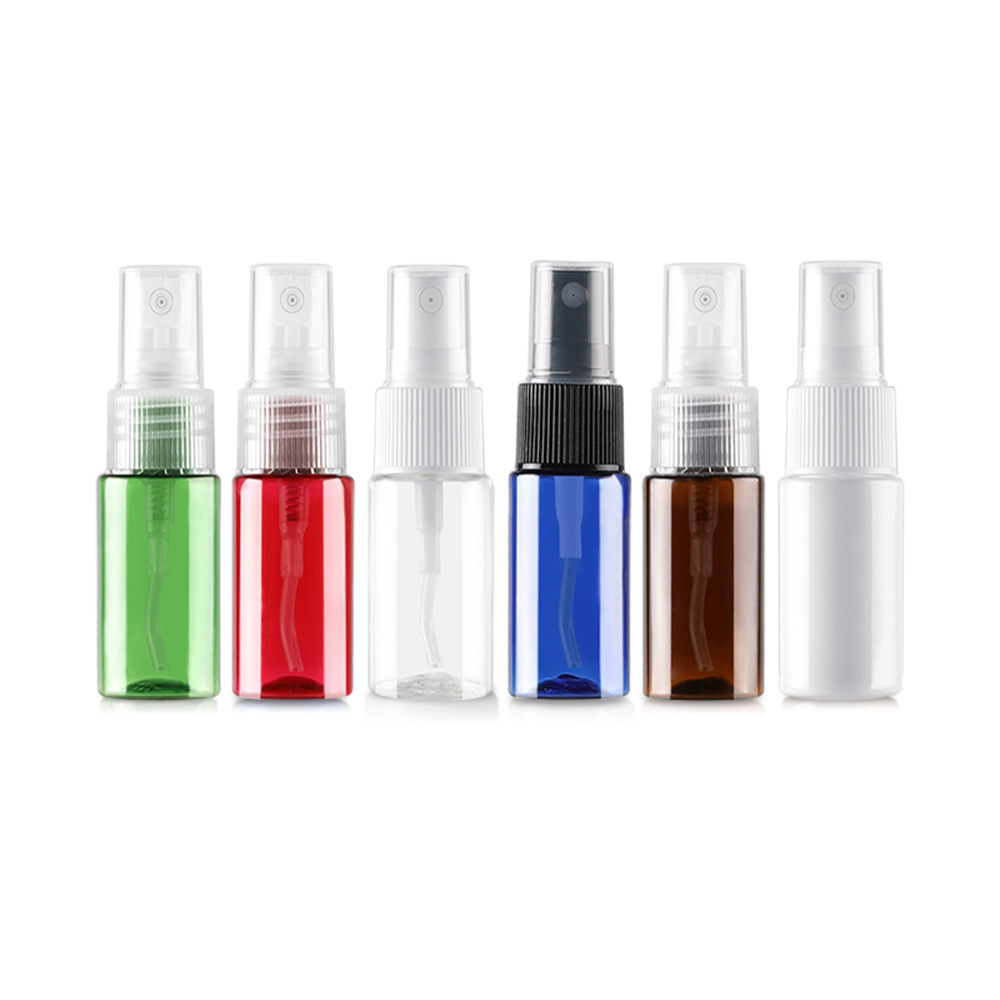 20pcs <font><b>20ml</b></font> <font><b>Spray</b></font> <font><b>Bottle</b></font> Clear PET <font><b>Bottle</b></font> with White Fine Mist Sprayer for Essential Oils, Aromatherapy, and Travel, Empty, Clear image