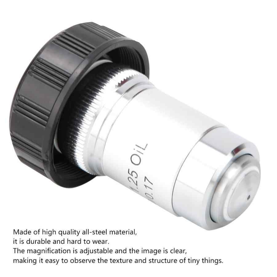 4X All-Steel Achromatic Objective Biological Microscope 195 All-Steel Achromatic Objective Lens for All Biological Microscopes with C Interface