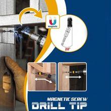 Impact Tough Bit Holder Magnetic Pivoting Bit Tip Holder Swivel Screw Drill Tip K9FA