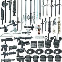 21 Stks/partij Compatibel Fontein Guard Action Figure Soldaat Van Zwaard Bouwstenen Gift Kinderen Speelgoed