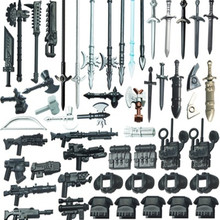21 יח\חבילה תואם מזרקת משמר פעולה איור חייל של חרב מתנת אבני בניין ילדי צעצועים