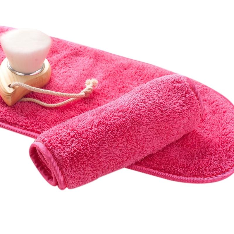 Natural Antibacterial Protection Makeup Remover Cleansing Beauty Wash Tools Reusable Microfiber Facial Cloth Face Towel