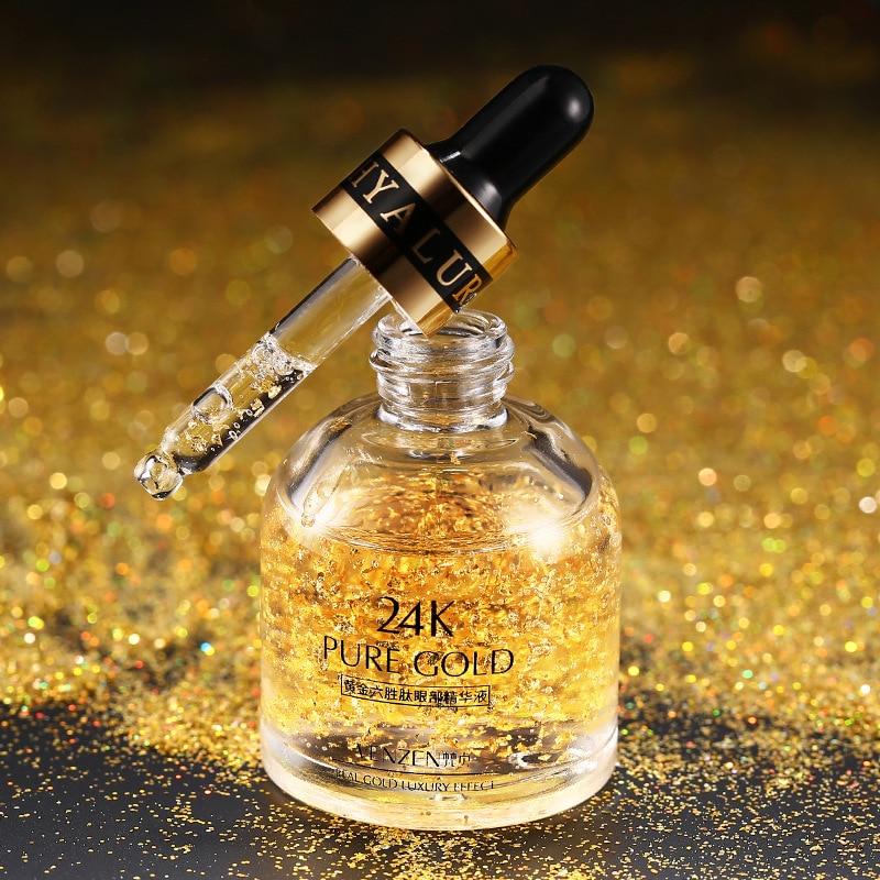 Шесть пептидов сущность с покрытыем цвета чистого 24 каратного золота концентрат Увлажняющий Укрепляющий крем увлажняющий питательный кре...