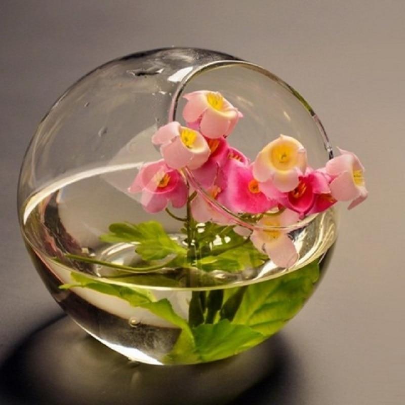 Terrarium Hydroponic Plant Vintage Flower Pot Transparent Glass Vase Home  Glass Tabletop Vase Home Bonsai Decor basic pump