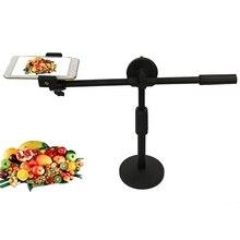 Support réglable + bras de flèche pour Photo/vidéo de bureau, cadre de Support multi angles