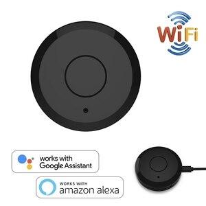 Универсальный пульт дистанционного управления WiFi ИК-концентратор умный дом Голосовое управление для Alexa Google Home One для всех инфракрасных WiFi ...