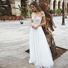 Кружевные свадебные платья в стиле бохо magic awn Кружевная