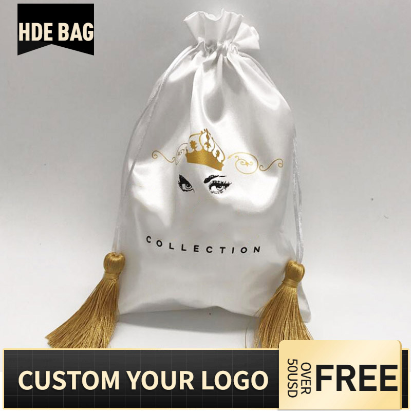 20pcs-luxury-hair-wigs-packaging-gift-bag-silk-ribbon-tassel-satin-bags-storage-pouch-print-logo-custom-bag-15x20-18x30-30x40cm