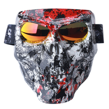 New Protection Cycling Mask With Goggles Multifunctional Anti-Fall 3D Animal Face Mask For Cycling Skiing Individual Design