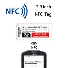 YalaTech ESL 2.9 inch Store Electronic shelf label NFC Esl Digital price tag for Intelligent store