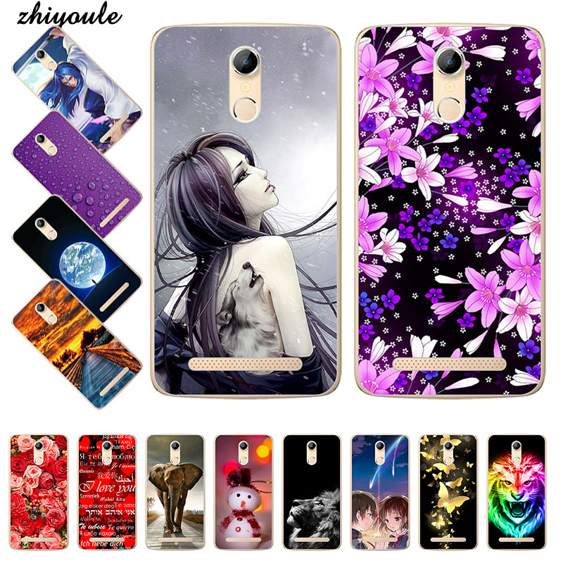 Lovely Fashion Painted Case For HOMTOM HT17 / HOMTOM HT17 Pro Case Cover Cute Art printed fundas For HOMTOM HT 17(China)
