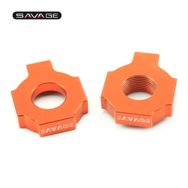 Ajusteur De chaîne Régulateur Curseurs Pour KTM XC-W XCF-W EXCF EXC 525 520 500 450 400 350 380 300 250 200 125 SXS SXF SX Moto