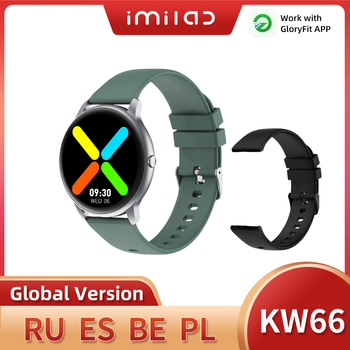 Смарт часы KW66 мужские с поддержкой Bluetooth 5,0, тонометром и Пульсометром|Смарт-часы|   | АлиЭкспресс