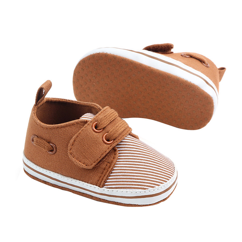 New Baby Walkers First Shoes Newborn Soft Striped Fashion Boy Shoes First Walkers Cotton Newborn Baby Shoes