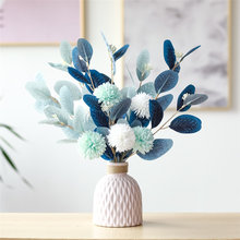 1pc Künstliche Blume Simulation Handgemachte DIY Bouquet Dutch Blatt Braut Löwenzahn Braut Bouquet Für Home Hochzeit Vase Dekoration