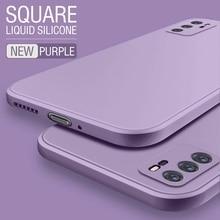 حافظة لهاتف Huawei Honor 9 9A 8x 9X Pro 10 Lite غطاء سائل أصلي مربع لهاتف Honor 10i 20i View 40 20 10 30 Play 3 4T Pro Coque