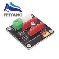 Placa de expansión para controlador de Motor paso a paso, módulo de protección de Control de impresora 3D, 42, DRV8825, A4988, Arduino UNO R3, Ramps1.4, Kit DIY