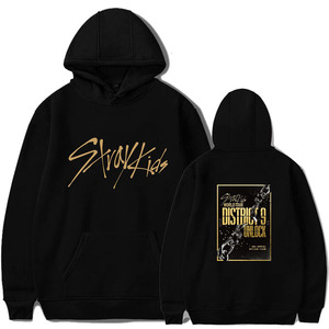 2019 KPOP Stray Kids Hoodies Sweatshirt Casual Oversized Hoodie Plus Size 4XL Merchandise World Tour District 9 Unlock StrayKids(China)