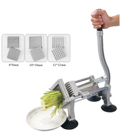High Efficiency Commercial French Fry Cutters Carrot Potato Chipper Stainless Steel Vegetable Onion Cabbage Shredder Chopper
