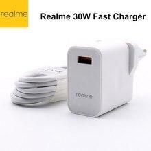 Realme – chargeur Realme 6 pro, 30w, Super chargeur 5V 6A, Charge rapide, Original, adaptateur secteur pour realme X50 pro X X2 X3
