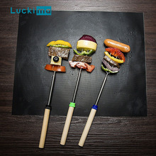 2pcs Reusable BBQ Grill Mat Non-stick Baking Pad Easy Clean Teflon Cooking Roast Grilling Sheet Heat Resistance Barbecue Tool